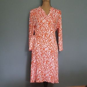 Newport News NWT super soft wrap dress
